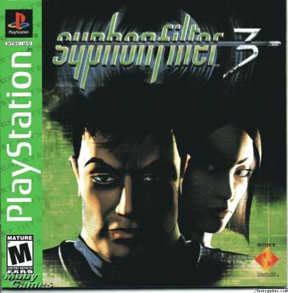 PlayStation Games - Syphon Filter 3