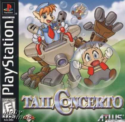 PlayStation Games - Tail Concerto