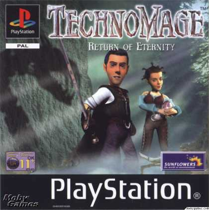 PlayStation Games - TechnoMage: Return of Eternity