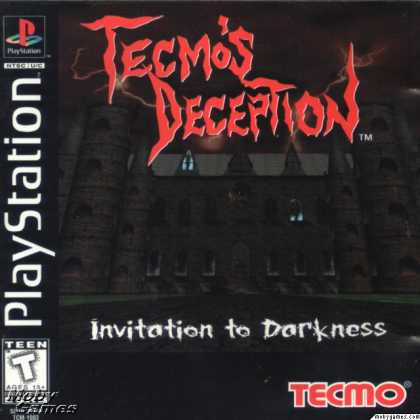 PlayStation Games - Tecmo's Deception