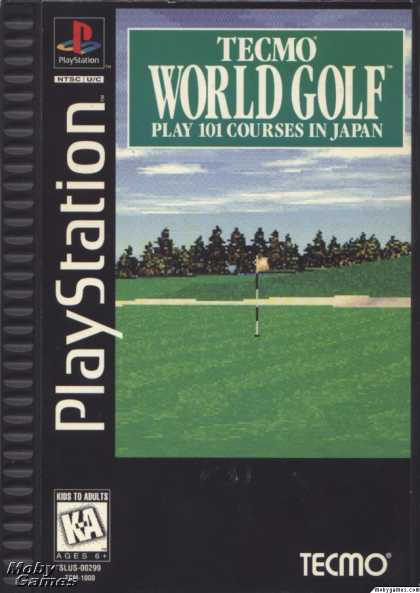 PlayStation Games - Tecmo World Golf