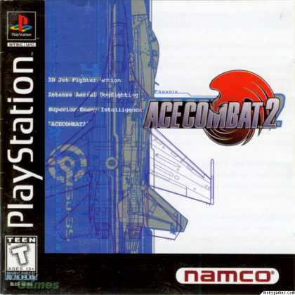 PlayStation Games - Ace Combat 2