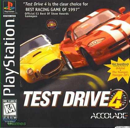 PlayStation Games - Test Drive 4