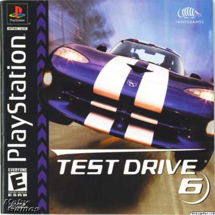 PlayStation Games - Test Drive 6