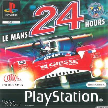 PlayStation Games - Test Drive: Le Mans