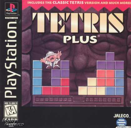 PlayStation Games - Tetris Plus