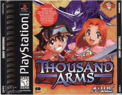 PlayStation Games - Thousand Arms
