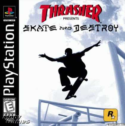 PlayStation Games - Thrasher Presents: Skate and Destroy