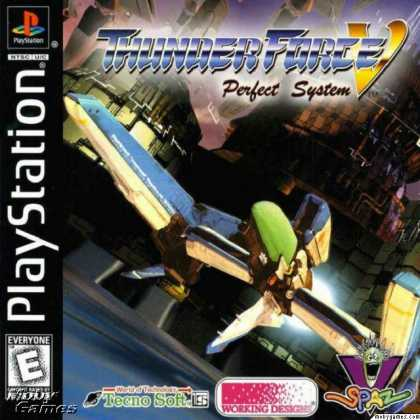 PlayStation Games - Thunder Force V: Perfect System