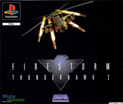 PlayStation Games - Thunderstrike 2