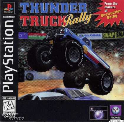 PlayStation Games - Thunder Truck Rally