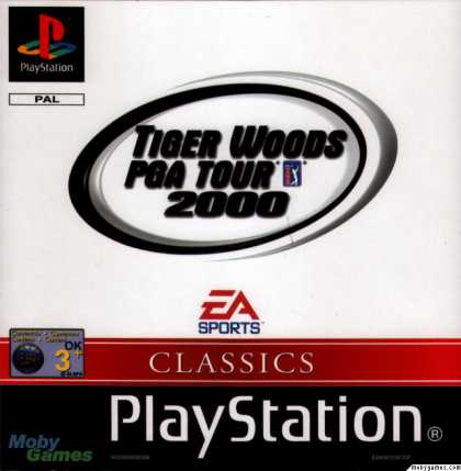 PlayStation Games - Tiger Woods PGA Tour 2000