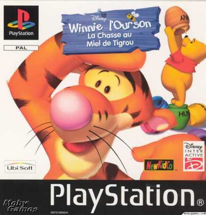 PlayStation Games - Tigger's Honey Hunt