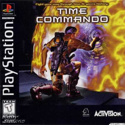 PlayStation Games - Time Commando