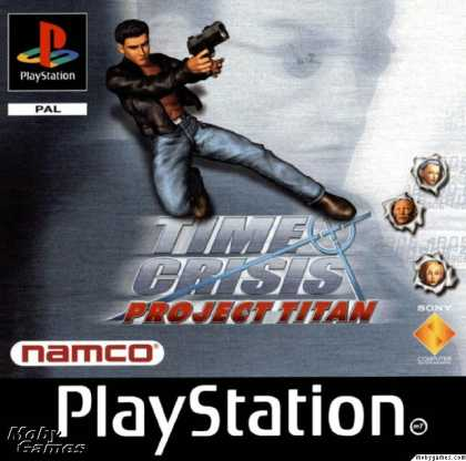 PlayStation Games - Time Crisis: Project Titan