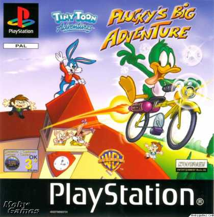 PlayStation Games - Tiny Toon Adventures: Plucky's Big Adventure