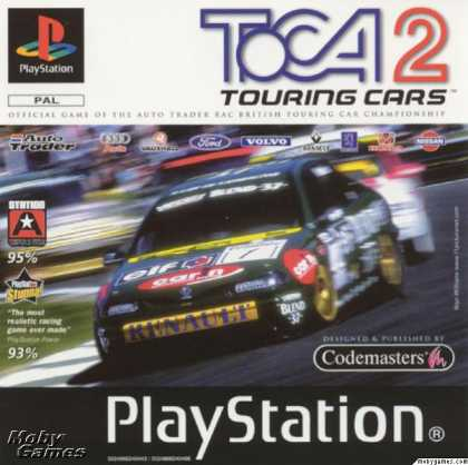 PlayStation Games - TOCA 2 Touring Cars