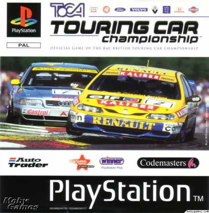 PlayStation Games - TOCA Touring Car Championship