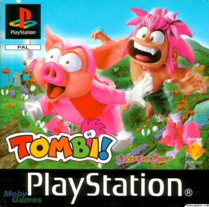 PlayStation Games - Tomba!