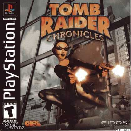 PlayStation Games - Tomb Raider: Chronicles