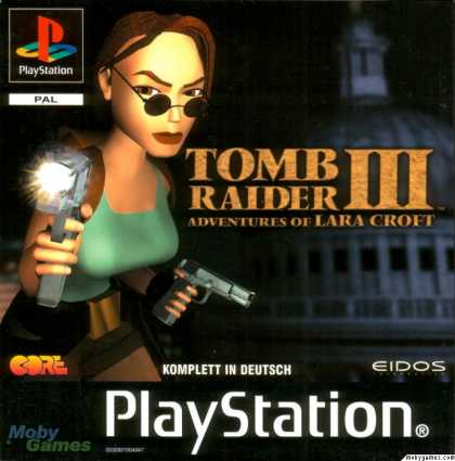 PlayStation Games - Tomb Raider III: Adventures of Lara Croft