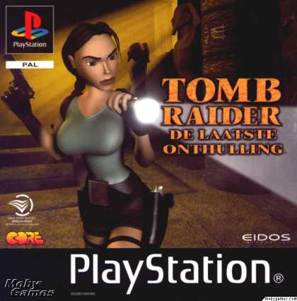 PlayStation Games - Tomb Raider: The Last Revelation