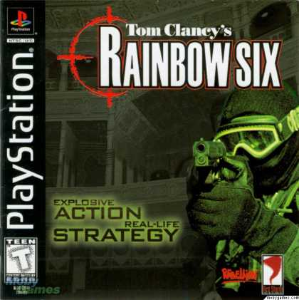 PlayStation Games - Tom Clancy's Rainbow Six