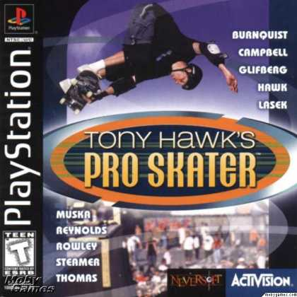PlayStation Games - Tony Hawk's Pro Skater
