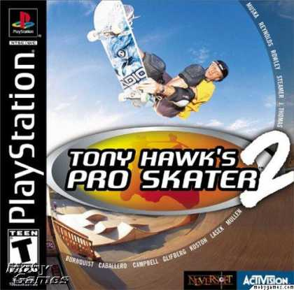 PlayStation Games - Tony Hawk's Pro Skater 2
