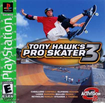 PlayStation Games - Tony Hawk's Pro Skater 3