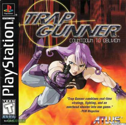 PlayStation Games - Trap Gunner