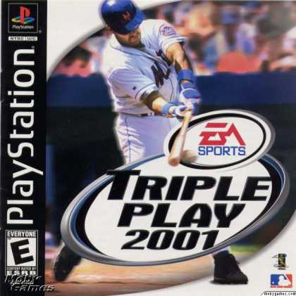 PlayStation Games - Triple Play 2001