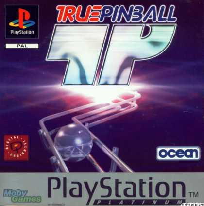 PlayStation Games - True Pinball