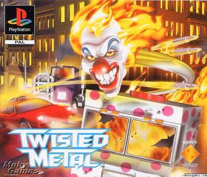 PlayStation Games - Twisted Metal