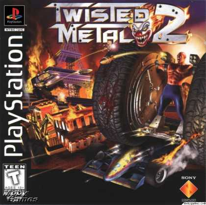 PlayStation Games - Twisted Metal 2