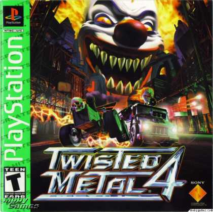 PlayStation Games - Twisted Metal 4