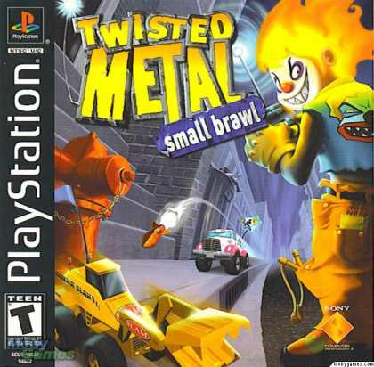 PlayStation Games - Twisted Metal Small Brawl