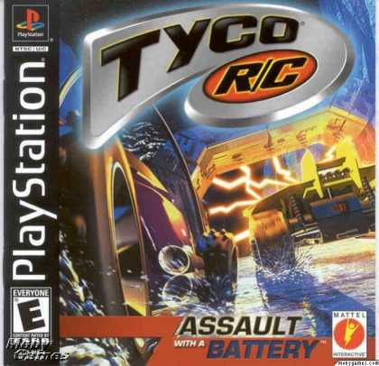 PlayStation Games - Tyco R/C: Assault with a Battery