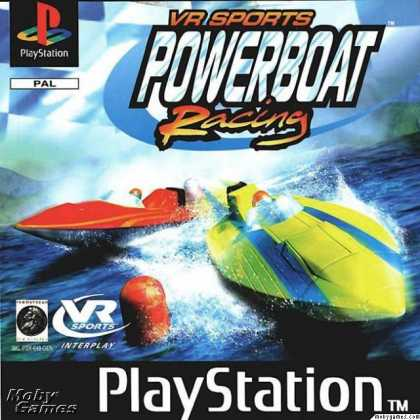PlayStation Games - VR Sports Powerboat Racing