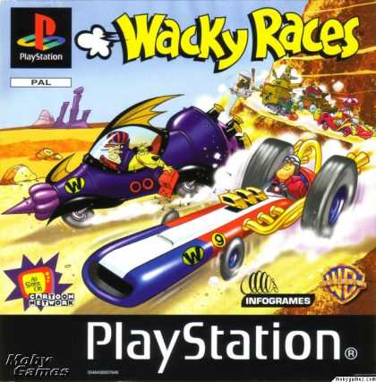 PlayStation Games - Wacky Races