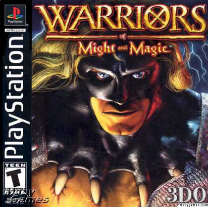 PlayStation Games - Warriors of Might and Magic