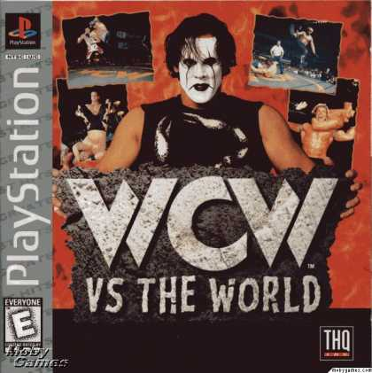 PlayStation Games - WCW vs. the World