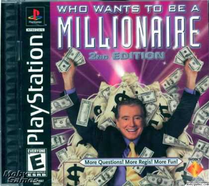 PlayStation Games - Who Wants To Be A Millionaire: Second Edition