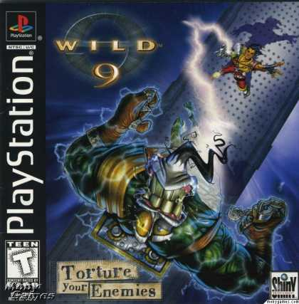 PlayStation Games - Wild 9
