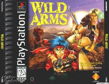PlayStation Games - Wild Arms