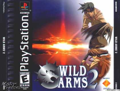 PlayStation Games - Wild Arms 2