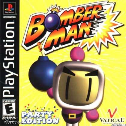 PlayStation Games - Bomberman Party Edition