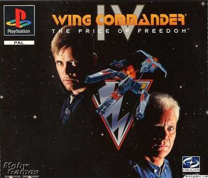 PlayStation Games - Wing Commander IV: The Price of Freedom