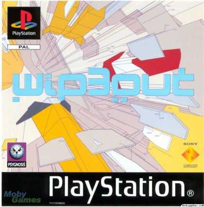 PlayStation Games - Wipeout 3