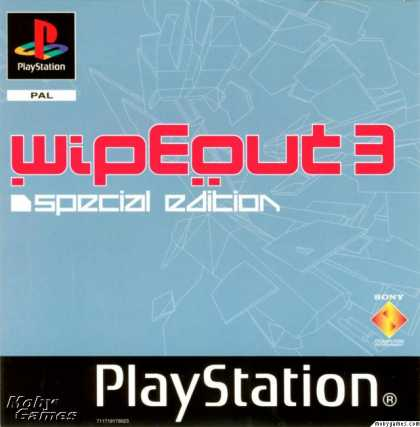 PlayStation Games - Wipeout 3: Special Edition